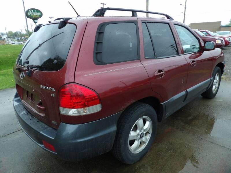 2005 Hyundai Santa Fe for sale at English Autos in Grove City PA