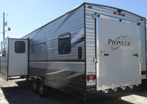 2017 Heartland Pioneer Toy Hauler for sale at Florida Coach Trader Inc in Tampa FL