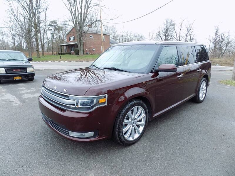 2018 Ford Flex for sale at SUMMIT TRUCK & AUTO INC in Akron NY