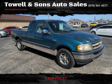 1997 Ford F-150 for sale at Towell & Sons Auto Sales in Manila AR