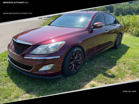 2013 Hyundai Genesis for sale at ABINGDON AUTOMART LLC in Abingdon VA
