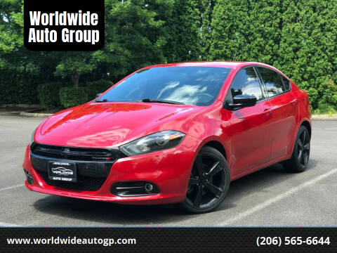 2014 Dodge Dart for sale at Worldwide Auto Group in Auburn WA