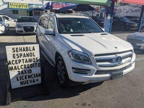 2014 Mercedes-Benz GL-Class for sale at Cedano Auto Mall Inc in Bronx NY