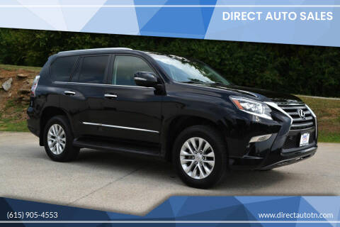2017 Lexus GX 460 for sale at Direct Auto Sales in Franklin TN