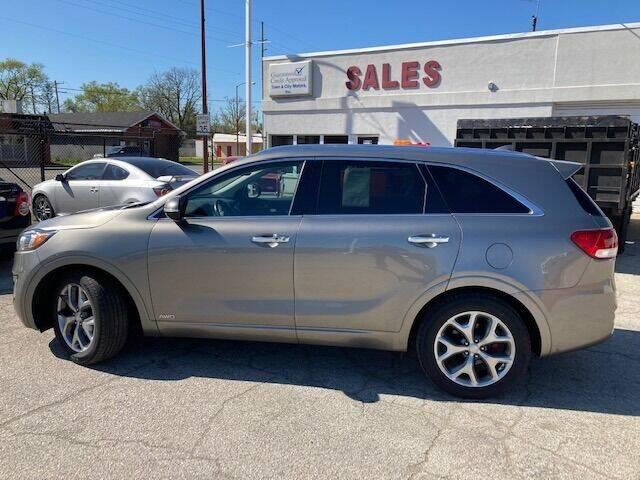 2016 Kia Sorento for sale at Town & City Motors Inc. in Gary IN