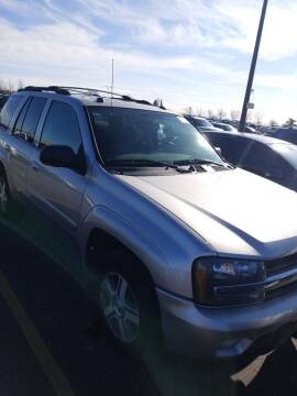 2005 Chevrolet TrailBlazer for sale at WB Auto Sales LLC in Barnum MN