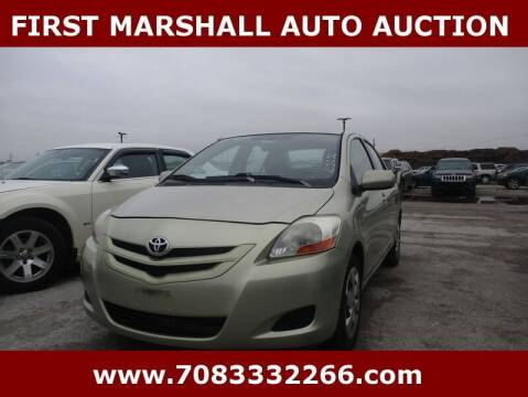 2007 Toyota Yaris for sale at First Marshall Auto Auction in Harvey IL