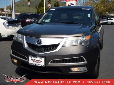 2012 Acura MDX for sale at McCarthy Wholesale in San Luis Obispo CA