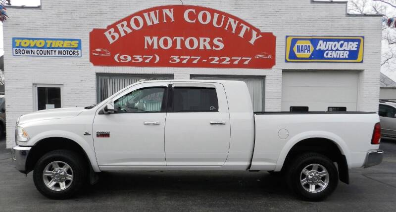 2012 RAM Ram Pickup 2500 for sale at Brown County Motors in Russellville OH