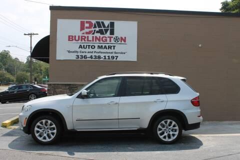 2012 BMW X5 for sale at Burlington Auto Mart in Burlington NC