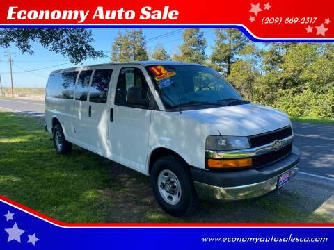 2012 Chevrolet Express Passenger for sale at Economy Auto Sale in Modesto CA