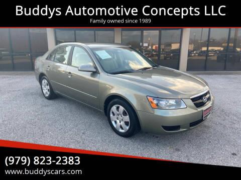 2007 Hyundai Sonata for sale at Buddys Automotive Concepts LLC in Bryan TX
