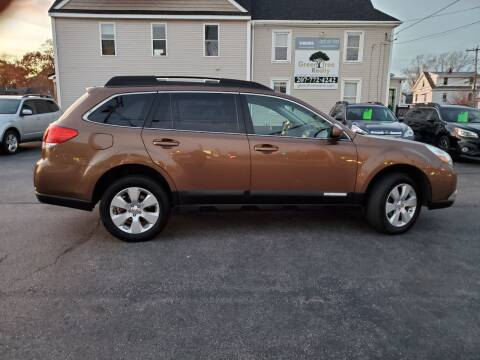 2011 Subaru Outback for sale at CHIP'S SERVICE CENTER in Portland ME
