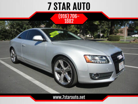 2008 Audi A5 for sale at 7 STAR AUTO in Sacramento CA