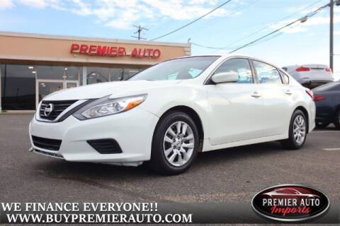 2016 Nissan Altima for sale at PREMIER AUTO IMPORTS - Temple Hills Location in Temple Hills MD