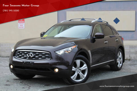2009 Infiniti FX35 for sale at Four Seasons Motor Group in Swampscott MA