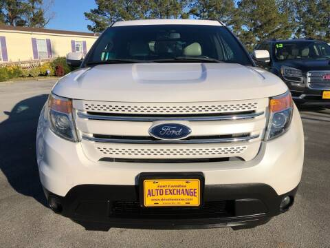 2012 Ford Explorer for sale at Greenville Motor Company in Greenville NC