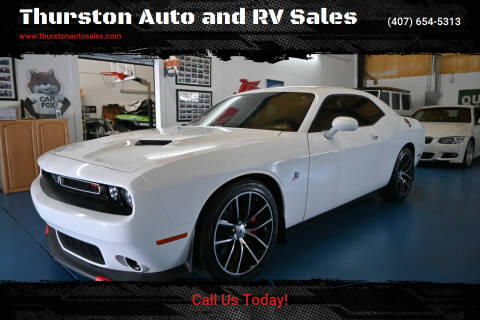 2018 Dodge Challenger for sale at Thurston Auto and RV Sales in Clermont FL