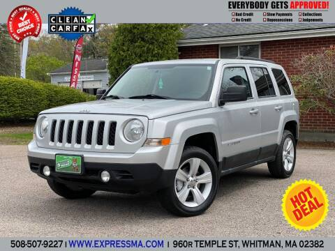 2011 Jeep Patriot for sale at Auto Sales Express in Whitman MA