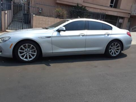 2013 BMW 6 Series for sale at Western Motors Inc in Los Angeles CA