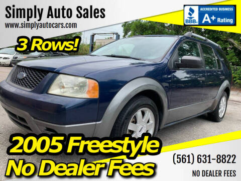 2005 Ford Freestyle for sale at Simply Auto Sales in Palm Beach Gardens FL