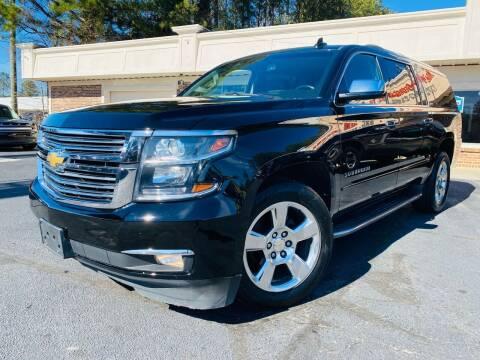 2016 Chevrolet Suburban for sale at North Georgia Auto Brokers in Snellville GA
