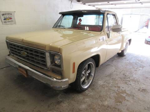 1975 Chevrolet C/K 10 Series for sale at Island Classics & Customs in Staten Island NY