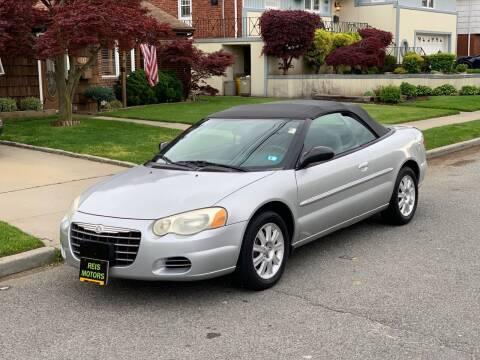 2004 Chrysler Sebring for sale at Reis Motors LLC in Lawrence NY