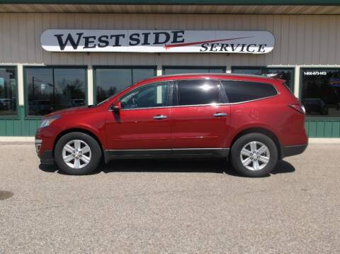2013 Chevrolet Traverse for sale at West Side Service in Auburndale WI