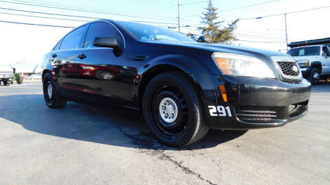 2012 Chevrolet Caprice for sale at Action Automotive Service LLC in Hudson NY