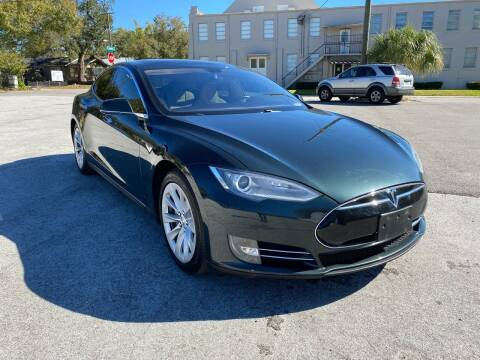 2013 Tesla Model S for sale at LUXURY AUTO MALL in Tampa FL