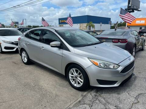 2015 Ford Focus for sale at P J Auto Trading Inc in Orlando FL