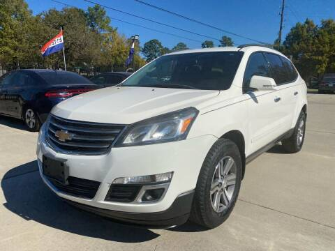 2015 Chevrolet Traverse for sale at Auto Land Of Texas in Cypress TX