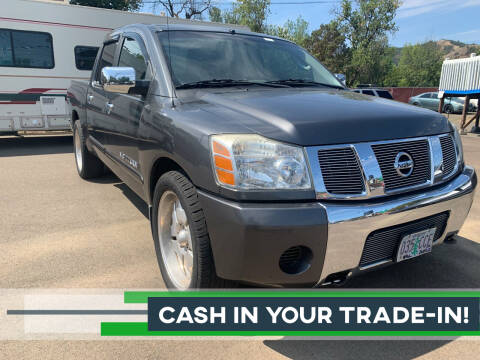 2005 Nissan Titan for sale at City Center Cars and Trucks in Roseburg OR