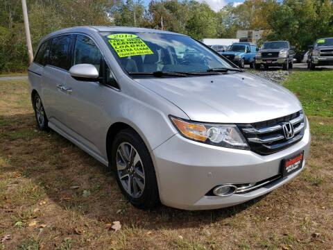 2014 Honda Odyssey for sale at Showcase Auto & Truck in Swansea MA