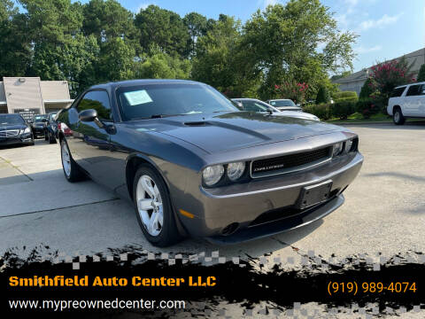 2013 Dodge Challenger for sale at Smithfield Auto Center LLC in Smithfield NC