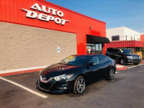 2017 Nissan Maxima for sale at Auto Depot of Smyrna in Smyrna TN