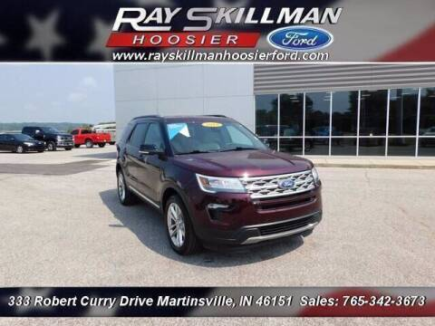 2018 Ford Explorer for sale at Ray Skillman Hoosier Ford in Martinsville IN