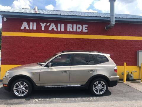 2008 BMW X3 for sale at Big Daddy's Auto in Winston-Salem NC