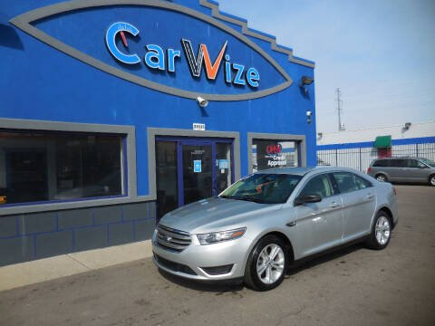 2016 Ford Taurus for sale at Carwize in Detroit MI