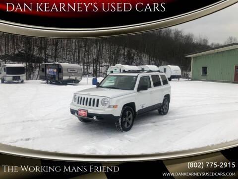 2013 Jeep Patriot for sale at DAN KEARNEY'S USED CARS in Center Rutland VT