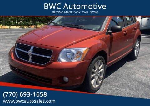 2010 Dodge Caliber for sale at BWC Automotive in Kennesaw GA