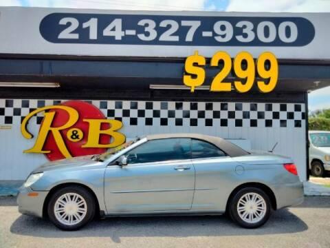 2008 Chrysler Sebring for sale at www.rnbfinance.com in Dallas TX