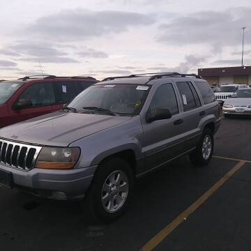 2001 Jeep Grand Cherokee for sale at WB Auto Sales LLC in Barnum MN