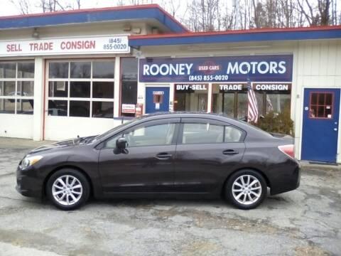 2013 Subaru Impreza for sale at Rooney Motors in Pawling NY
