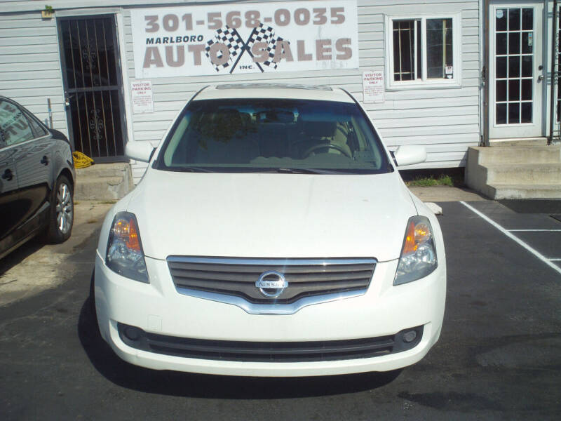 2009 Nissan Altima for sale at Marlboro Auto Sales in Capitol Heights MD
