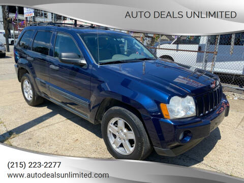 2005 Jeep Grand Cherokee for sale at AUTO DEALS UNLIMITED in Philadelphia PA