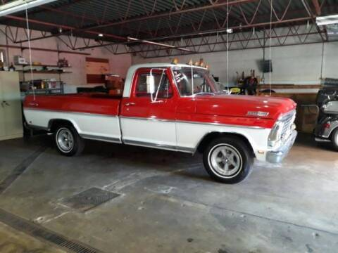 1967 Ford F-100 for sale at Classic Car Deals in Cadillac MI