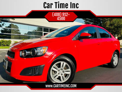 2014 Chevrolet Sonic for sale at Car Time Inc in San Jose CA