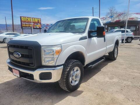 2016 Ford F-250 Super Duty for sale at Bickham Used Cars in Alamogordo NM